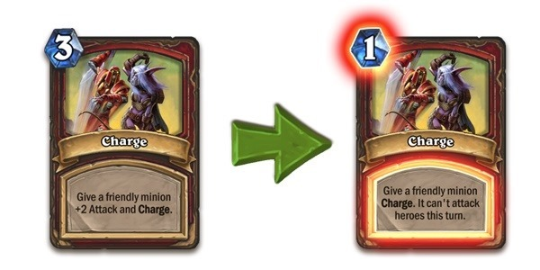 Charge Hearthstone