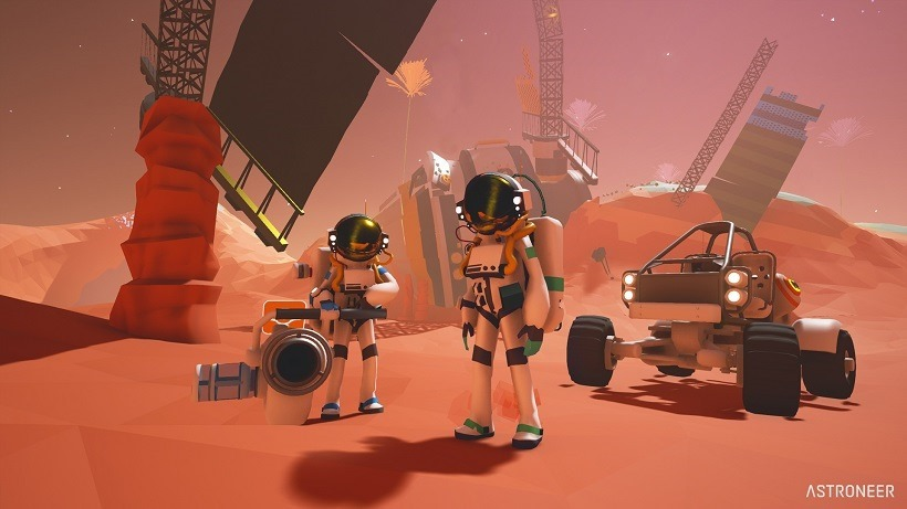 The Astroneer enters early access in December