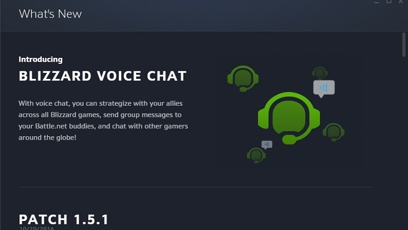 Blizzard finally has its own voice chat