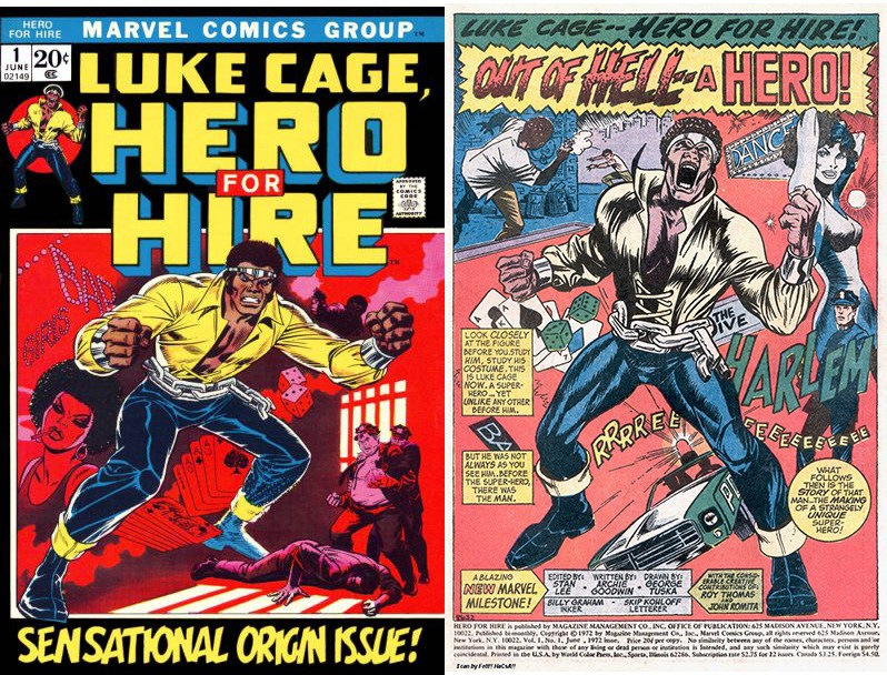 LukeCage Hero for Hire Vol 1