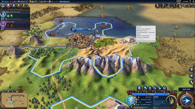 City close up civ vi