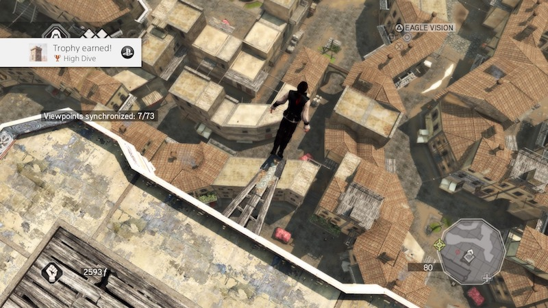 Ezio collection leap of faith
