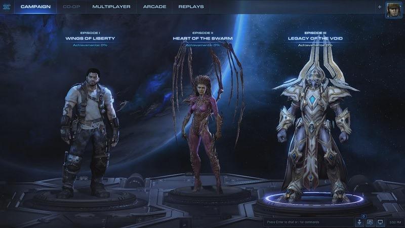 StarCraft II Trilogy header
