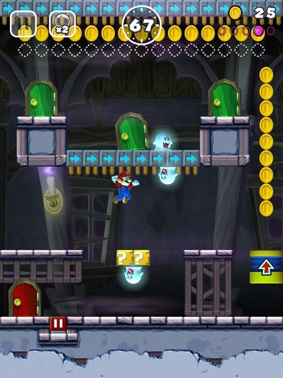Super Mario run GI