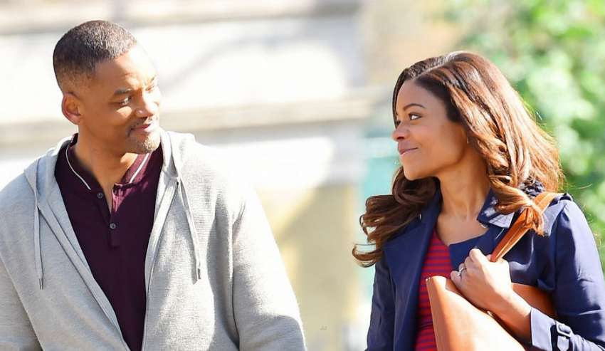 Collateral Beauty interview with Naomie Harris 5