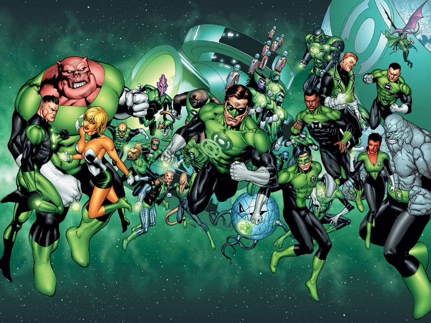 "Green Lantern Corps will be ""Lethal Weapon in space""; focuses on Hal Jordan and John Stewart  4"