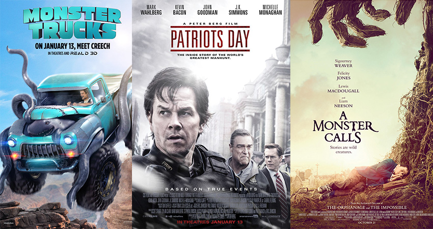 Movies out Today: 13 January 2017