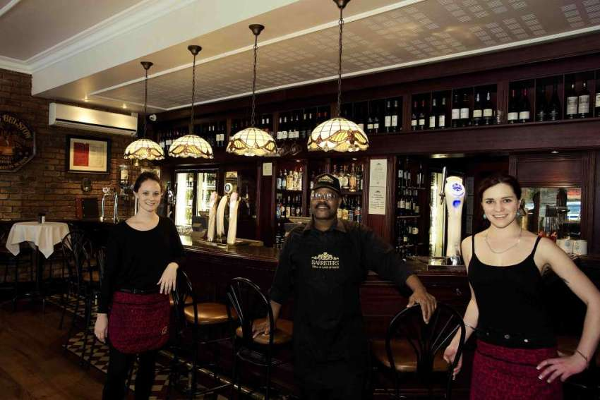Barristers Grill - Old-world charm in Newlands 9