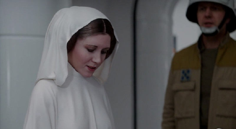 You won't be seeing a CGI Carrie Fisher in future Star Wars films 4