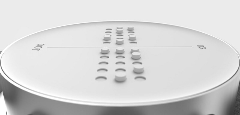 A smartwatch that displays in Braille is on its way, called Dot 5