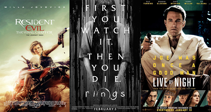 Movies out Today: 03 February 2017 2