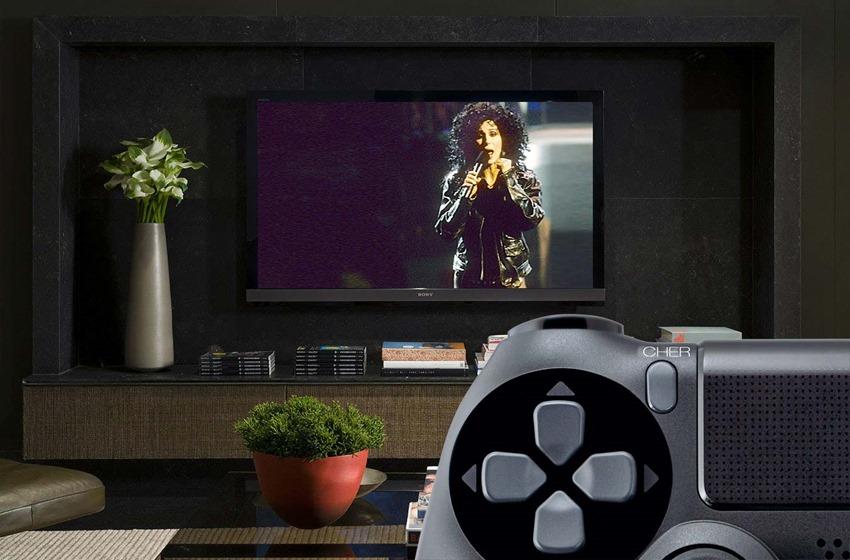 Cher-Button