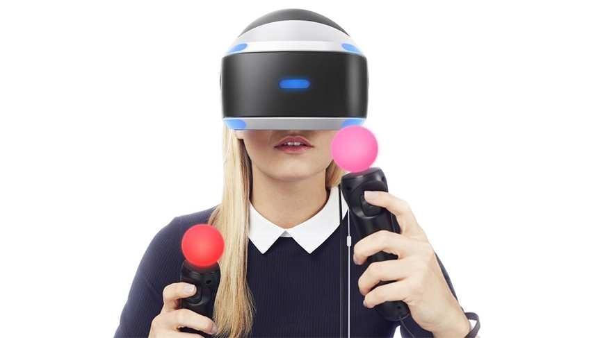PlayStation VR tracking
