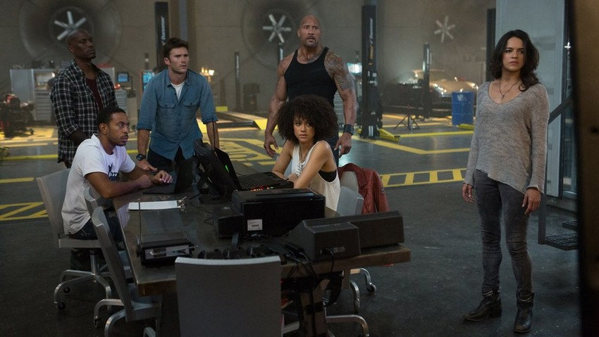 The Fate of the Furious review - A ridiculous, high-octane cartoon of a thrill ride 9