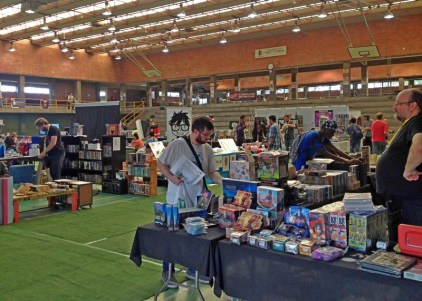 Vendor area.