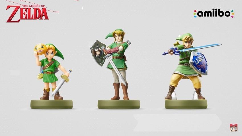 New Legend of Zelda Amiibo revealed