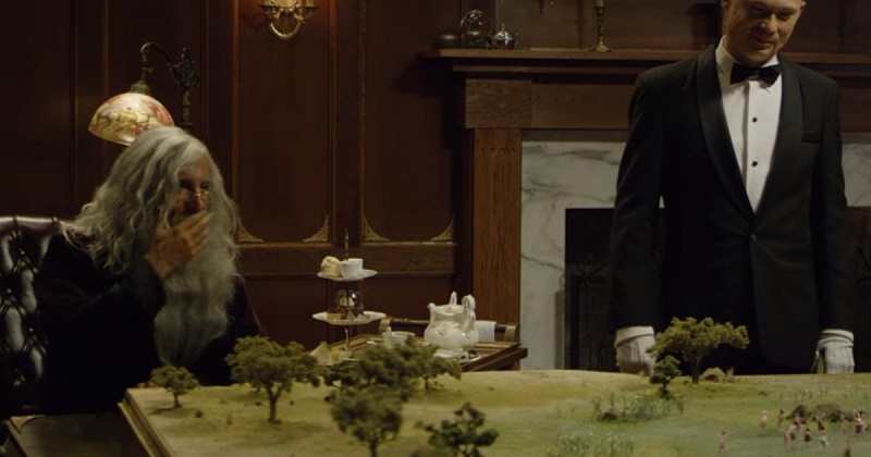 Watch Sharlto Copley play God in Neill Blomkamp's latest short film God: Serengeti 3