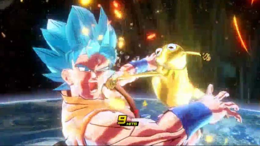 Kermit the Frog is going over 9000 in Dragon Ball XenoVerse 2