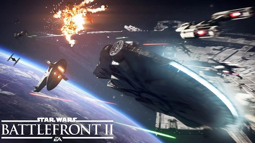 Starfighter Assault gameplay shows off Battlefront II's revamped dogfights