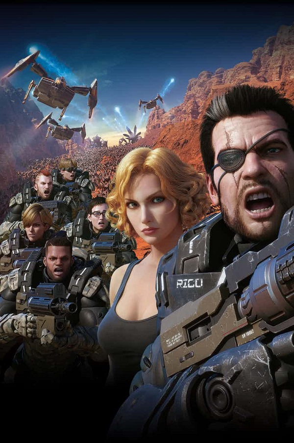 It's time for more epic bug battles in the new trailer for Starship Troopers: Traitor of Mars 4