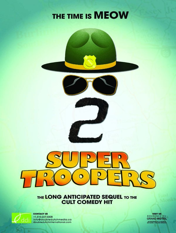 Get ready to meownt up in this teaser trailer for Super Troopers 2 4
