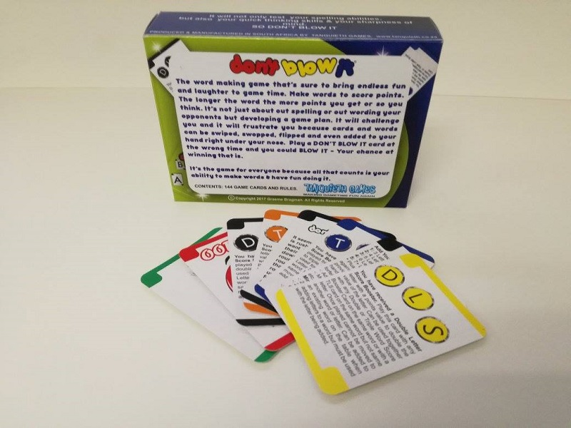 Don't Blow It Review - A local card-based word game that is easy to get into and appeals to the whole family 6