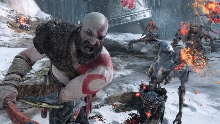 God of War has some suitably nasty monsters to fight 2