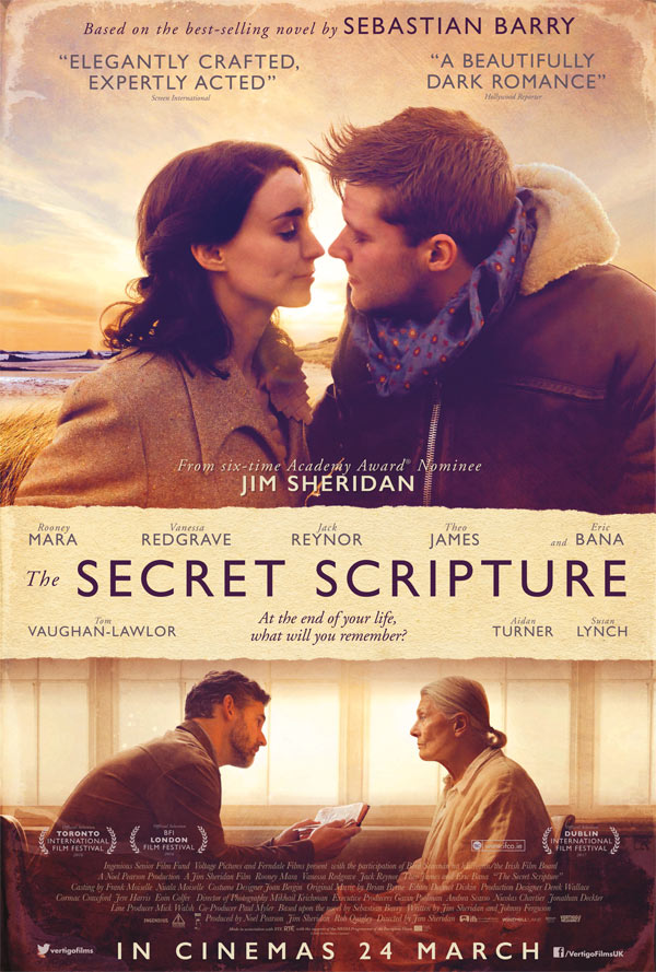 Rooney Mara keeps her secrets in this trailer for the drama The Secret Scripture 4