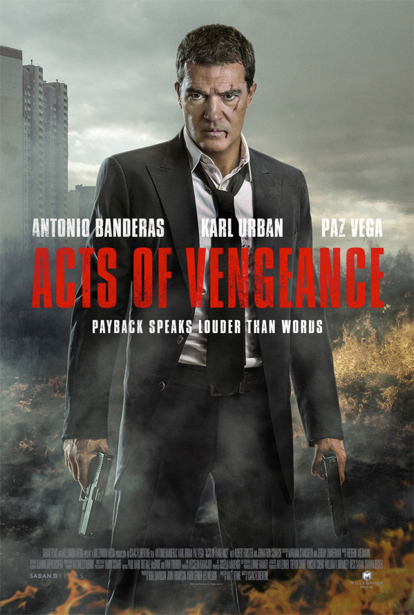 Antonio Banderas is out for silent revenge in first trailer for Acts of Vengeance 4