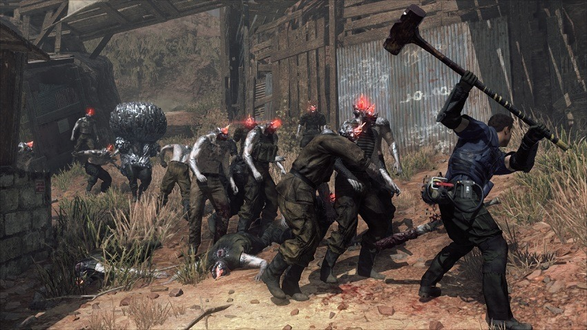 New look at Metal Gear Survive's single-player
