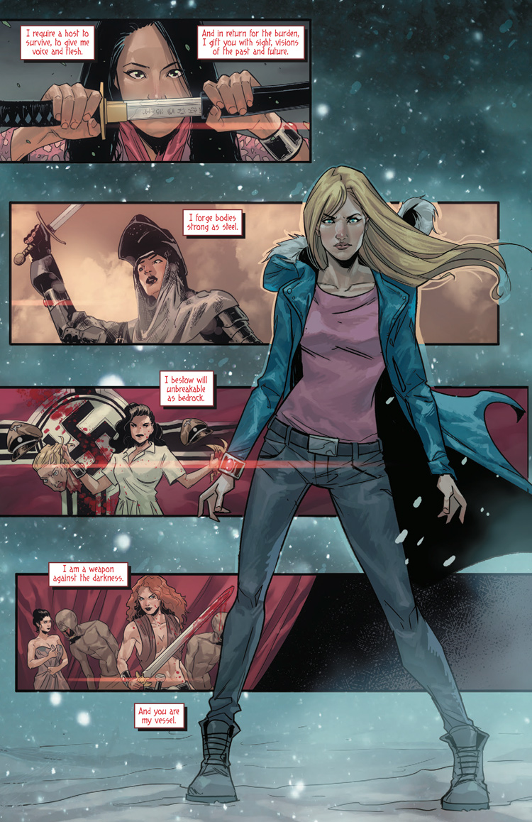 The rebooted Witchblade is off to a promising Jessica Jones-esque start 8