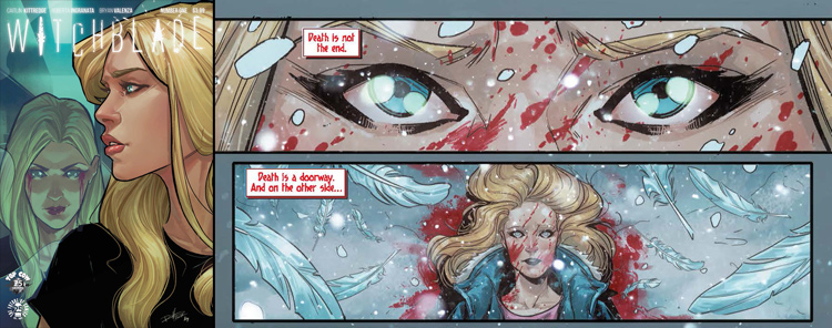 The rebooted Witchblade is off to a promising Jessica Jones-esque start 5