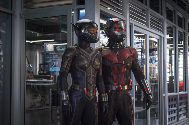 Watch the exciting first trailer for Marvel's Ant-Man and the Wasp! 3