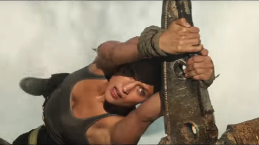 The second Tomb Raider trailer ups the island action 3