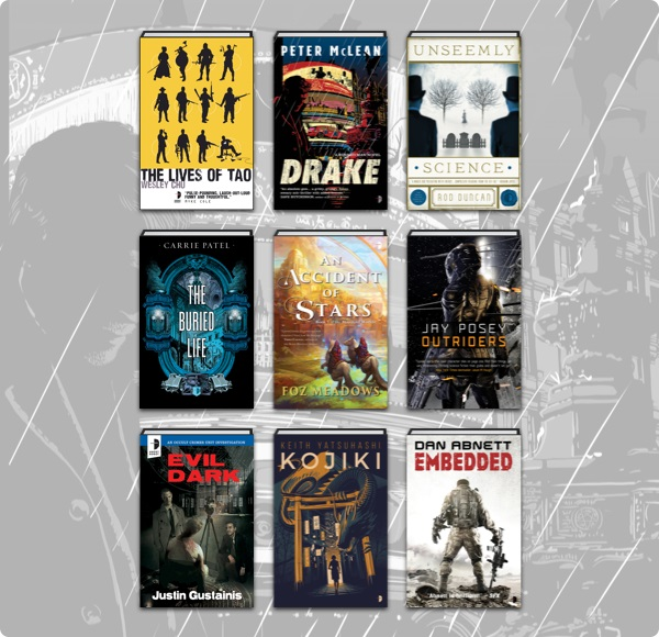 The SF & Fantasy ebook bundle from Humble Bundle covers a broad selection of genre writing 2