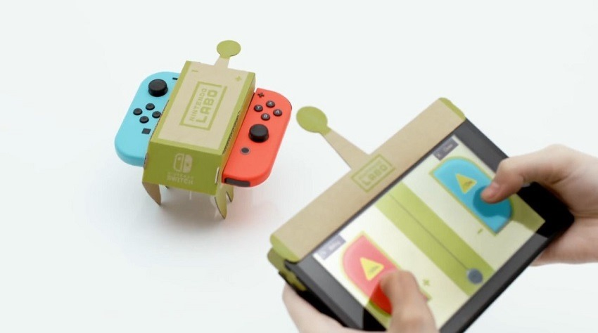 Nintendo Labo is letting you make custom robots 2