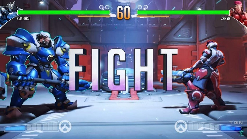What if Overwatch was a fighting game