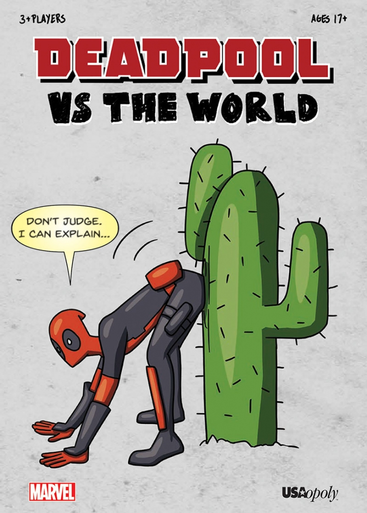 Deadpool is coming to tabletops in Deadpool vs. the World 6