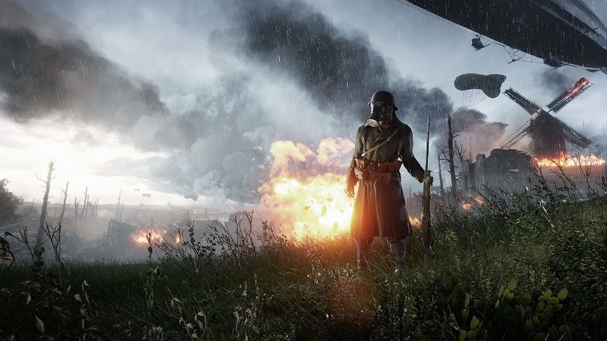 Battlefield 1 is training AI to play