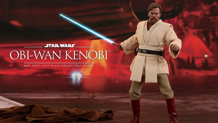 Hot Toys Obi Wan Kenobi Totally Has The High Ground Critical Hit