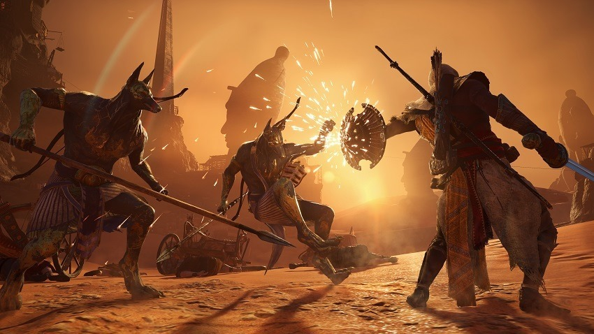 See the first 15 minutes of Curse of the Pharaohs 2