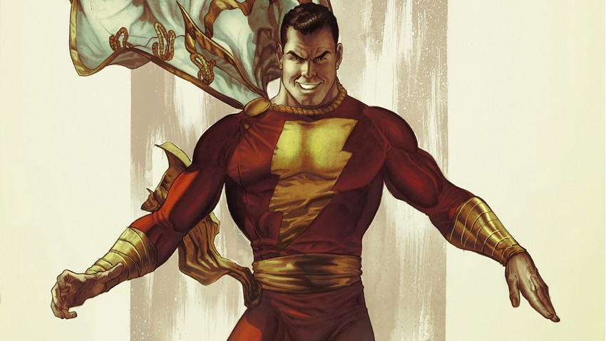 Shazam! set pics show off Zachary Levi's very comic accurate costume 2