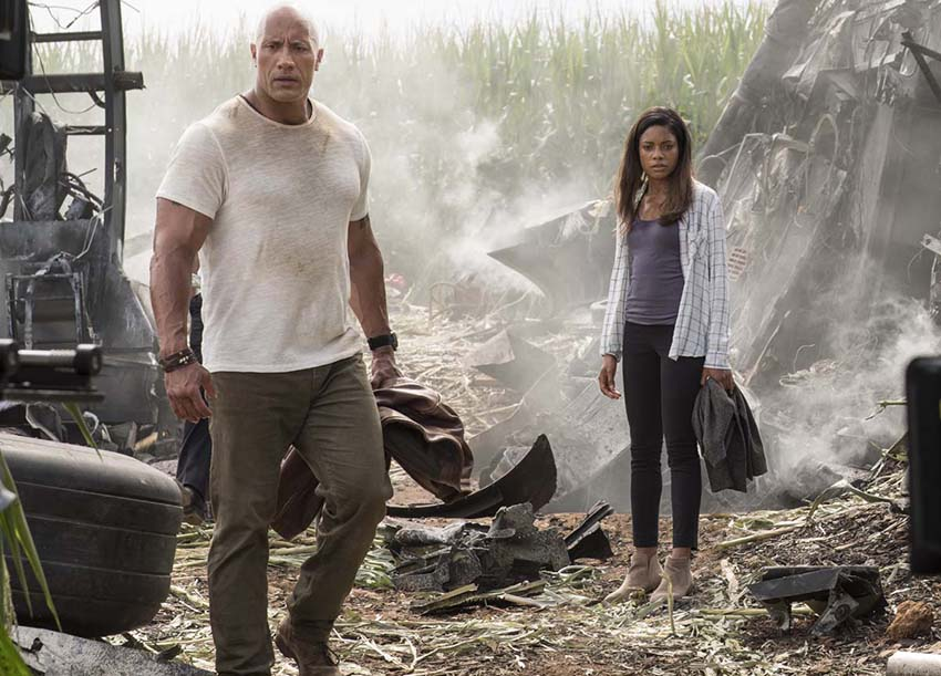 Rampage review–Thrilling video game monster blockbuster action with surprising heart 4