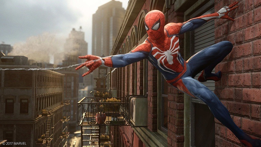 Spider-Man has a plethora of gadgets