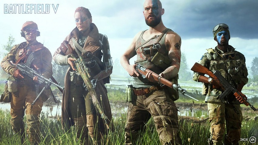 DICE boss responds to Battlefield V female character backlash 2