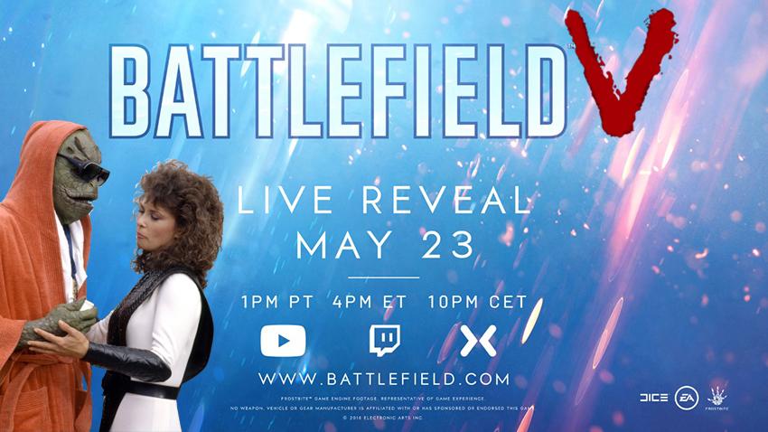 Battlefield V title confirmed; Trevor Noah to host live reveal next week 2