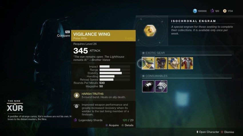Destiny 2: Where is Xur (and whats he got for sale?) – 25 May 6