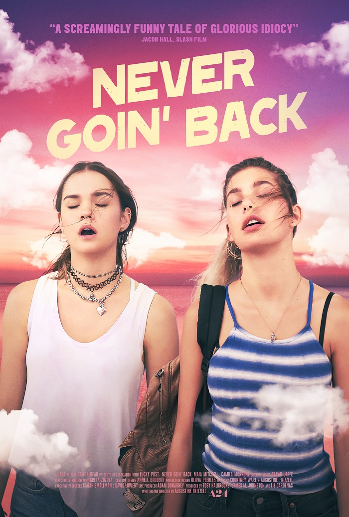 If you just want to get away from it all then this trailer for the R-rated indie comedy Never Goin' Back is for you 4
