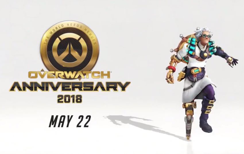 Check out the leaked skins from Overwatch's new Anniversary event; plus first look at new deathmatch map 2