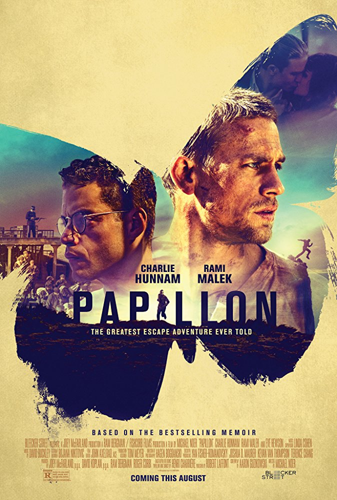 Charlie Hunnam wants off Devil's Island in the remake of the great escape story Papillon 4
